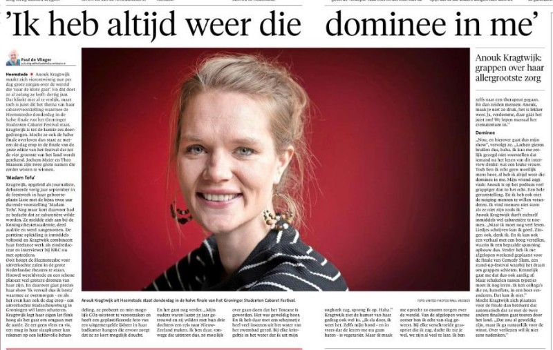 artikel haarlems dagblad interview paul